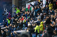 Seattle, WA - Saturday March 24, 2018: Fans during a regular season National Women's Soccer League (NWSL) match between the Seattle Reign FC and the Washington Spirit at the UW Medicine Pitch at Memorial Stadium.