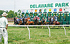 Counting Days winning at Delaware Park on 7/27/16