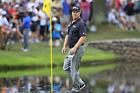 Charley Hoffman (USA) on the 16th green during Sunday's Final Round of the WGC Bridgestone Invitational 2017 held at Firestone Country Club, Akron, USA. 6th August 2017.<br /> Picture: Eoin Clarke | Golffile<br /> <br /> <br /> All photos usage must carry mandatory copyright credit (&copy; Golffile | Eoin Clarke)