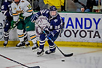 9 February 2019: University of New Hampshire Wildcat Forward Liam Blackburn, a Junior from Prince George, British Columbia, in third period action against the University of Vermont Catamounts at Gutterson Fieldhouse in Burlington, Vermont. The Wildcats fell to the Catamounts 4-1 splitting their 2-game Hockey East weekend series. Mandatory Credit: Ed Wolfstein Photo *** RAW (NEF) Image File Available ***