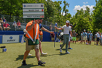 Tommy Fleetwood (ENG) heads down 10 during Round 2 of the Zurich Classic of New Orl, TPC Louisiana, Avondale, Louisiana, USA. 4/27/2018.<br /> Picture: Golffile | Ken Murray<br /> <br /> <br /> All photo usage must carry mandatory copyright credit (&copy; Golffile | Ken Murray)