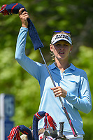 Jessica Korda (USA) looks over her tee shot on 15 during round 2 of the 2018 KPMG Women's PGA Championship, Kemper Lakes Golf Club, at Kildeer, Illinois, USA. 6/29/2018.<br /> Picture: Golffile | Ken Murray<br /> <br /> All photo usage must carry mandatory copyright credit (© Golffile | Ken Murray)