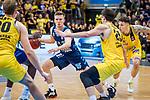Martin Hermannsson (ALBA Berlin #15) / Kostantin Konga (MHP Riesen Ludwigsburg #7) /Tanner Leissner (MHP Riesen Ludwigsburg #21)  beim Spiel in der Basketball Bundesliga, MHP Riesen Ludwigsburg - ALBA Berlin.<br /> <br /> Foto © PIX-Sportfotos *** Foto ist honorarpflichtig! *** Auf Anfrage in hoeherer Qualitaet/Aufloesung. Belegexemplar erbeten. Veroeffentlichung ausschliesslich fuer journalistisch-publizistische Zwecke. For editorial use only.