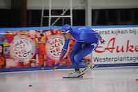 SCHAATSEN: LEEUWARDEN, 22-10-2016, Elfstedenhal, KNSB Trainingswedstrijden, Kai Verbij, ©foto Martin de Jong