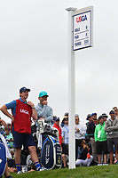 Paul Casey (GBR) looks over his tee shot on 9 during round 1 of the 2019 US Open, Pebble Beach Golf Links, Monterrey, California, USA. 6/13/2019.<br /> Picture: Golffile | Ken Murray<br /> <br /> All photo usage must carry mandatory copyright credit (© Golffile | Ken Murray)