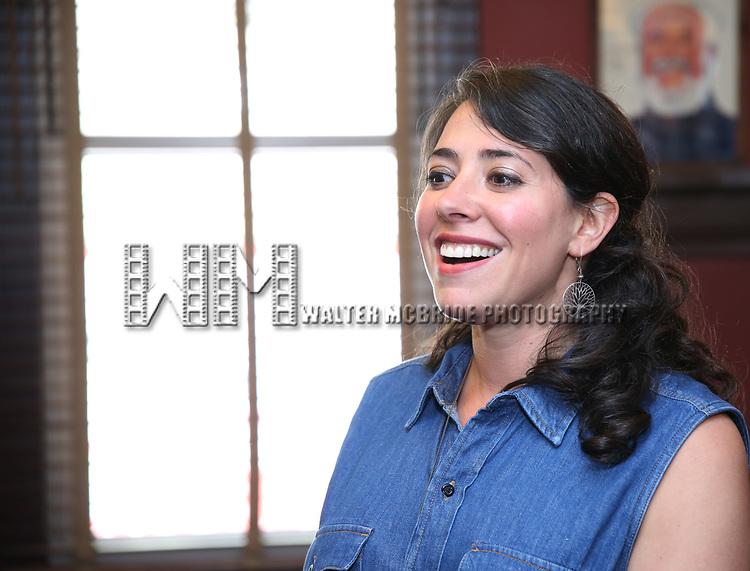 Rachel Chavkin during the Josh Groban Sardi's Portrait Unveiling  at Sardi's on June 2, 2017 in New York City.
