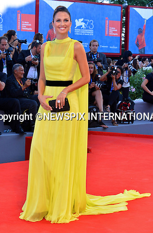 31.08.2016; Venice, Italy: ANNA SAFRONCIK<br /> atttends &ldquo;La La Land&rdquo; screening at the 73rd Venice Film Festival.<br /> Mandatory Credit Photo: &copy;NEWSPIX INTERNATIONAL<br /> <br /> PHOTO CREDIT MANDATORY!!: NEWSPIX INTERNATIONAL(Failure to credit will incur a surcharge of 100% of reproduction fees)<br /> <br /> IMMEDIATE CONFIRMATION OF USAGE REQUIRED:<br /> Newspix International, 31 Chinnery Hill, Bishop's Stortford, ENGLAND CM23 3PS<br /> Tel:+441279 324672  ; Fax: +441279656877<br /> Mobile:  0777568 1153<br /> e-mail: info@newspixinternational.co.uk<br /> Please refer to usage terms. All Fees Payable To Newspix International