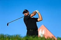 Jordan Smith (ENG) on the 11th during the 2nd round of the Abu Dhabi HSBC Championship, Abu Dhabi Golf Club, Abu Dhabi,  United Arab Emirates. 17/01/2020<br /> Picture: Fran Caffrey   Golffile<br /> <br /> <br /> All photo usage must carry mandatory copyright credit (© Golffile   Fran Caffrey)