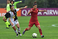 Maria Alves (Juventus) and Elisa Bartoli (Roma)<br /> <br /> Roma 24/11/2019 Stadio Tre Fontane <br /> Football Women Serie A 2019/2020<br /> AS Roma - Juventus <br /> Photo Andrea Staccioli / Insidefoto