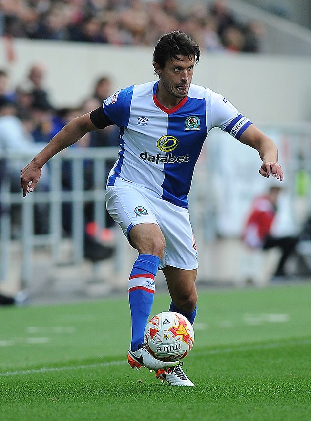Blackburn Rovers' Jason Lowe in action during todays match  <br /> <br /> Photographer Ashley Crowden/CameraSport<br /> <br /> The EFL Sky Bet Championship - Bristol City v Blackburn Rovers - Saturday 22nd October 2016 - Ashton Gate - Bristol<br /> <br /> World Copyright &copy; 2016 CameraSport. All rights reserved. 43 Linden Ave. Countesthorpe. Leicester. England. LE8 5PG - Tel: +44 (0) 116 277 4147 - admin@camerasport.com - www.camerasport.com