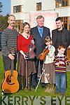 Tim OShea, Niamh Ni Chara, Minister John ODonoghue, Ciara OShea, Sean OShea and John ODonoghue at the launch of the Gathering Festival in the Brehon Hotel, Killarney, last Saturday..