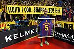 League LNFS 2018/2019.<br /> Play Off. Game: 5.<br /> FC Barcelona Lassa vs El Pozo Murcia: 3-2.<br /> Leo Santana.
