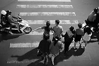 street life, in Dalat