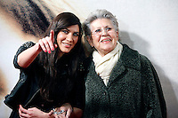 Celia Blanco and Pilar Bardem attends 'Venuto Al Mondo' (Volver A Nacer) premiere at Capitol cinema. January 10, 2013. (ALTERPHOTOS/Caro Marin) /NortePhoto