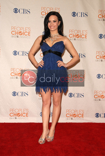 Demi Lovato<br /> at the Press Room for the 2010 People's Choice Awards, Nokia Theater L.A. Live, Los Angeles, CA. 01-06-10<br /> David Edwards/Dailyceleb.com 818-249-4998
