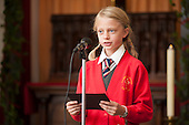Pupil of Hampden Gurney CE Primary School recites a Tyburn poem at Tyburn Convent.  Restoration of the Tyburn Tree Plaque at the junction of Edgware Road and Marble Arch, London.