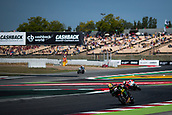 June 10th 2017,  Barcelona Circuit, Montmelo, Catalunya, Spain; MotoGP Grand Prix of Catalunya, qualifying day; Johann Zarco of Monster Yamaha Tech3 Team testing the new chicane of the circuit