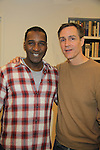 """Rehearsals for Ragtime starring All My Children Norm Lewis """"Keith McLean"""" & now Scandal and Young and the Restless Howard McGillan """"Snapper's brother - Greg Foster"""" on February 11, 2013 for a concert at Avery Fisher Hall, New York City, New York on Monday February 18, 2013. (Photo by Sue Coflin/Max Photos)"""