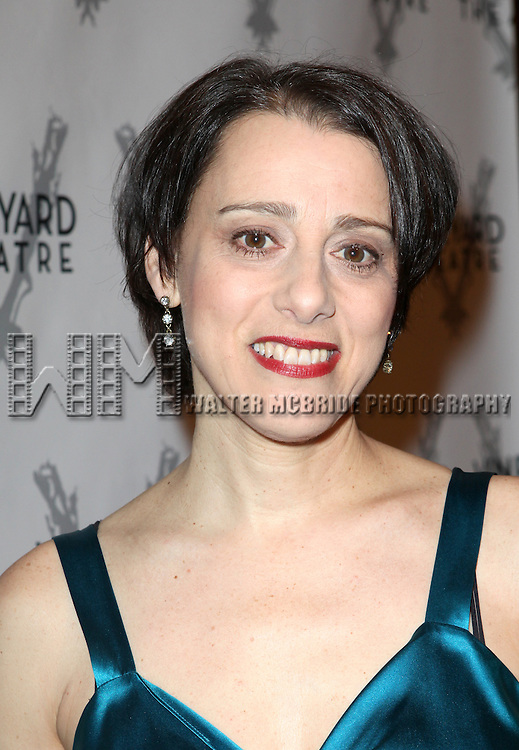 Judy Kuhn attending the Vineyard Theatre's 30th Anniversary Gala Celebration Cocktail Reception at the Edison Ballroom in New York City on 3/18/2013