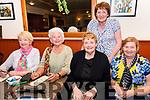 At The Manor inn Killorglin for the Thrashing Cancer Bingo Night<br /> L-R Madge Gill, Eileen McGillicuddy, Helen O'Connor, Hilda Coffey & Margaret Donovan.