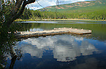 Brush Lake Dock, Boundary County, Idaho