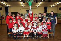 St David's Day, Year 1, at Newton Primary School in Swansea, Wales, UK. Wednesday 01 March 2017
