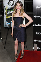 HOLLYWOOD, LOS ANGELES, CA, USA - NOVEMBER 18: Gillian Jacobs arrives at the Los Angeles Special Screening Of Magnolia Pictures' 'Life Partners' held at Arclight Hollywood on November 18, 2014 in Hollywood, Los Angeles, California, United States. (Photo by Rudy Torres/Celebrity Monitor)