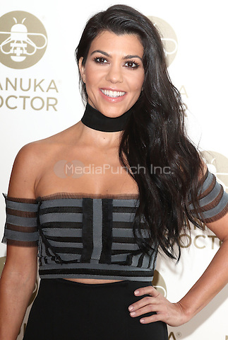 Photocall to celebrate the appointment as of Kourtney Kardashian as Global Brand Ambassador for Manuka Doctor, held at the London Edition hotel, London on June 8th 2016<br /> CAP/ROS<br /> &copy;Steve Ross/Capital Pictures /MediaPunch ***NORTH AND SOUTH AMERICAS ONLY***