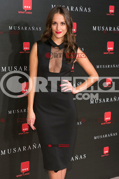 "Silvia Alonso attend the Premiere of the movie ""Musaranas"" in Madrid, Spain. December 17, 2014. (ALTERPHOTOS/Carlos Dafonte) /NortePhoto /NortePhoto.com"