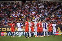 Action photo during the match Chile vs Panama, Corresponding to Group -D- America Cup Centenary 2016 at Lincoln Financial Field.<br /> <br /> Foto de accion durante el partido Chile vs Panama, Correspondiente al Grupo -D- de la Copa America Centenario 2016 en el  Lincoln Financial Field, en la foto: Eduardo Vargas de Chile<br /> <br /> <br /> 14/06/2016/MEXSPORT/Osvaldo Aguilar.