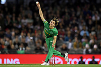 10th January 2020; Marvel Stadium, Melbourne, Victoria, Australia; Big Bash League Cricket, Melbourne Renegades versus Melbourne Stars; Lance Morris of the Stars bowls the ball - Editorial Use