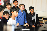 The Harker School - MS - Middle School - Step Up Day for 5th graders where they get a sneak peek at life as a MS student - Photo by Kyle Cavallaro