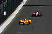 Verizon IndyCar Series<br /> Indianapolis 500 Carb Day<br /> Indianapolis Motor Speedway, Indianapolis, IN USA<br /> Friday 26 May 2017<br /> Ryan Hunter-Reay, Andretti Autosport Honda<br /> World Copyright: Phillip Abbott<br /> LAT Images<br /> ref: Digital Image abbott_indy_0517_27693