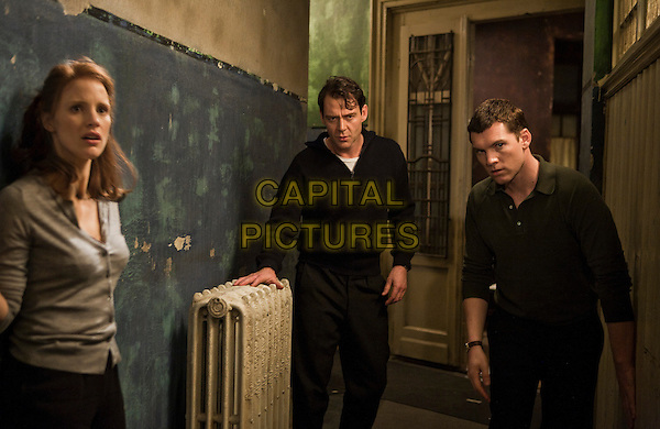 Jessica Chastain, Marton Csokas & Sam Worthington.in The Debt.*Filmstill - Editorial Use Only*.CAP/FB.Supplied by Capital Pictures.