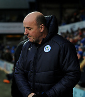 Wigan Athletic manager Paul Cook <br /> <br /> Photographer Hannah Fountain/CameraSport<br /> <br /> The EFL Sky Bet Championship - Ipswich Town v Wigan Athletic - Saturday 15th December 2018 - Portman Road - Ipswich<br /> <br /> World Copyright &copy; 2018 CameraSport. All rights reserved. 43 Linden Ave. Countesthorpe. Leicester. England. LE8 5PG - Tel: +44 (0) 116 277 4147 - admin@camerasport.com - www.camerasport.com