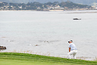 Kiradech Aphibarnrat (THA) chips on to 8 during round 1 of the 2019 US Open, Pebble Beach Golf Links, Monterrey, California, USA. 6/13/2019.<br /> Picture: Golffile | Ken Murray<br /> <br /> All photo usage must carry mandatory copyright credit (© Golffile | Ken Murray)