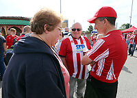 Lincoln City fans soak up the pre-match atmosphere in the Fan Zone<br /> <br /> Photographer Rich Linley/CameraSport<br /> <br /> The EFL Sky Bet League One - Lincoln City v Bristol Rovers - Saturday September 14th 2019 - Sincil Bank - Lincoln<br /> <br /> World Copyright © 2019 CameraSport. All rights reserved. 43 Linden Ave. Countesthorpe. Leicester. England. LE8 5PG - Tel: +44 (0) 116 277 4147 - admin@camerasport.com - www.camerasport.com