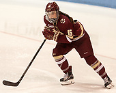 Erin Connolly (BC - 15) - The Boston College Eagles defeated the Boston University Terriers 3-2 in the first round of the Beanpot on Monday, January 31, 2017, at Matthews Arena in Boston, Massachusetts.