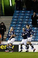 GOAL - Lee Gregory of Millwall celebrates during the Sky Bet Championship match between Millwall and Sheff Wednesday at The Den, London, England on 20 February 2018. Photo by Carlton Myrie.