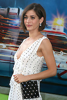HOLLYWOOD, CA - JULY 9: Lizzy Caplan at the premiere of Sony Pictures' 'Ghostbusters' held at TCL Chinese Theater on July 9, 2016 in Hollywood, California. Credit: David Edwards/MediaPunch