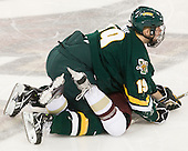 Matt White (Vermont - 19), Brian Gibbons (BC - 17) - The Boston College Eagles defeated the visiting University of Vermont Catamounts 6-0 on Sunday, November 28, 2010, at Conte Forum in Chestnut Hill, Massachusetts.