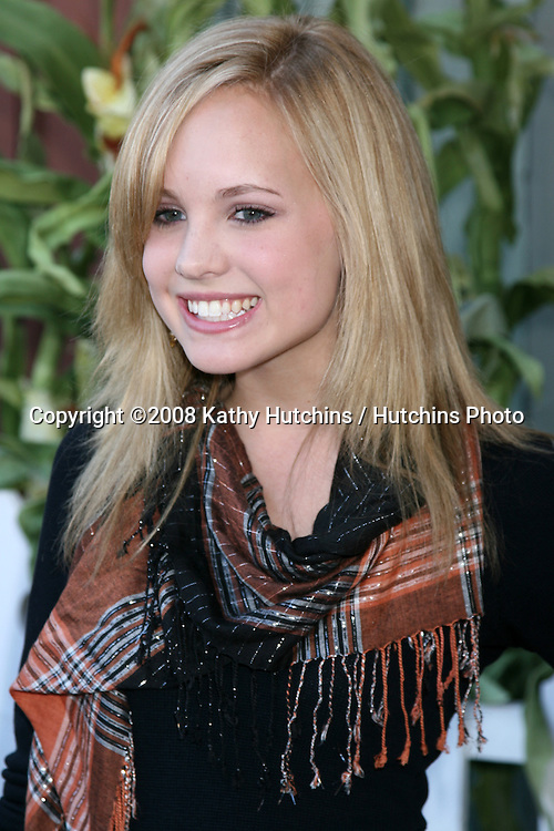 Meaghan Jette Martin arriving to the Camp Ronald McDonald Event on the backlot of Universal Studios, in Los Angeles, CA  on.October 26, 2008.©2008 Kathy Hutchins / Hutchins Photo...                .