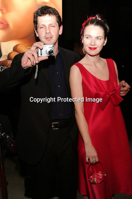 Essie Davia and Peter Webber<br />