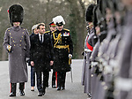 President Macron & PM Theresa May - RMA Sandhurst