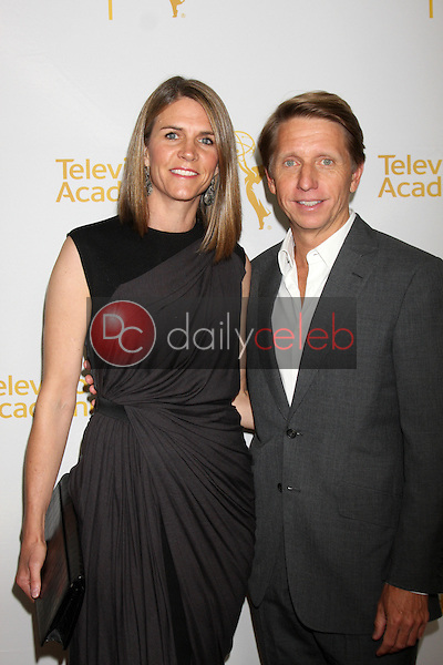 LOS ANGELES - JUN 19:  Colleen Bell, Bradley Bell at the ATAS Daytime Emmy Nominees Reception at the London Hotel on June 19, 2014 in West Hollywood, CA