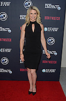 LOS ANGELES, CA - SEPTEMBER 15: IFAW Canada Wildlife Campaigns Director, Sheryl Fink attends the screening of Discovery Impact's 'Huntwatch' at NeueHouse Hollywood on September 15, 2016 in Los Angeles, California. Credit: David Edwards/MediaPunch