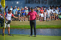 Jason Day (AUS) looks over his putt on 16 during 3rd round of the World Golf Championships - Bridgestone Invitational, at the Firestone Country Club, Akron, Ohio. 8/4/2018.<br /> Picture: Golffile | Ken Murray<br /> <br /> <br /> All photo usage must carry mandatory copyright credit (© Golffile | Ken Murray)