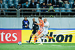 Jeju United FC (KOR) vs Adelaide United (AUS) during the AFC Champions League 2017 Group Stage - Group H match at the Jeju World Cup Stadium on 11 April 2017 in Jeju, South Korea. Photo by Marcio Rodrigo Machado / Power Sport Images