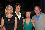 Kim Alexis (supermodel) & hubby Ron Duguay (retired NHL player), Martha Byrne (host), Ken Daneyko (NJ Devils) at the benefit Angels for Hope which benefits St. Jude Children's Research Hospital on May 29, 2009 at the Estate at Florentine Gardens, Rivervale, NJ. (Photo by Sue Coflin/Max Photos)