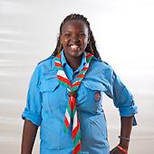 Scout from Burundi.